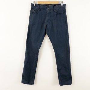 Nike Mens Casual Blue Skinny Dress Pants, 30